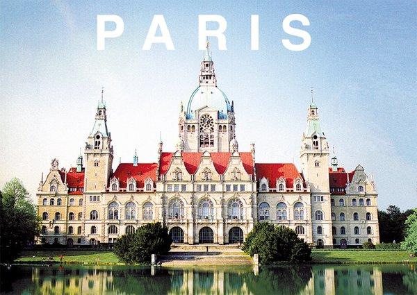 "Druck - Motiv ""PARIS"""